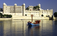 pichola lake, lakes, udaipur, rajasthan, india
